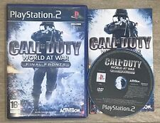 Call of Duty : World at War Final Fronts COMPLET (PS2)
