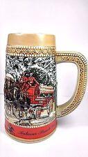 Vintage 1987 BUDWEISER BEER STEIN C SERIES GRANT'S FARM ANHEUSER BUSCH CERAMIC
