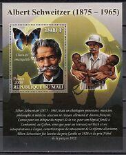 Malí , 2009 Tema Dr. Albert Schweitzer con Mariposa S / Hoja.