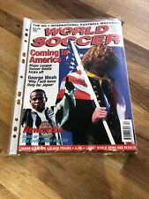 World Soccer Magazine - April 96 / MLS finally Kicks Off / Asprilla ⚽️