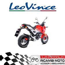Tubo de escape Leovince Lv-10 Black Edición Honda 125 MSX 2017 Grom Racing