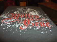 MOTLEY CRUE 2011 CONCERT TOUR GRAY T-SHIRT MEN'S M