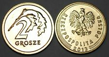 2013 Poland New Style 2 Grosze Coin BU Very Nice KM # 924