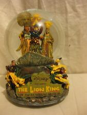 Disney Collection The Lion King Snow Globe Musical Plays The Circle of Life
