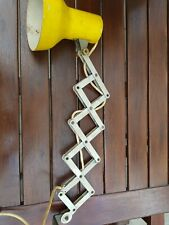 Vintage Industrial Lighting Accordion Scissor Lamp