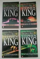 The Green Mile Stephen King Parts 1,2,3,4 PB Books