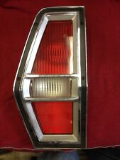 1972 Ford Pinto. Mercury Bobcat Station Wagon NOS Tail Light Assembly Left Side