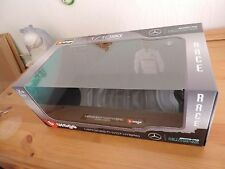 Lewis Hamilton 1:18 Display model BOX clear window + stand Replacement Mercedes