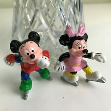 Disney Vintage Mickey & Minnie mouse Applause  figure figurine Preloved