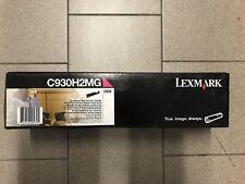 Toner Lexmark C935 MAGENTA (C930H2MG) originale (NO compatibile) - Original new