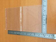 100 Clear Plastic16x24cm Resealable Cellophane Cello Bag Packaging/Packing/Gift