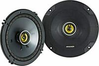 "KICKER 46CSC654 6.5"" CSC COAX SPEAKERS (PAIR)"