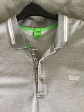 Camisa Polo para hombre Hugo Boss, Gris XXL usado una vez