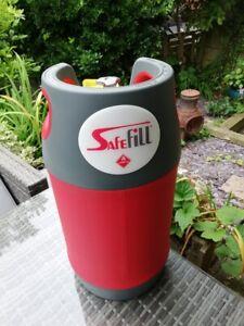 safefill LPG  10kg gas bottle  Refillable Propane Brand New Boxed