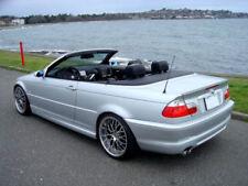 USA Painted Trunk Lip Spoiler 99-06 BMW E46 Convertible Carbon Black Metallic M3