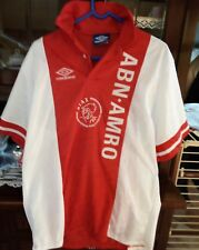 Maglia Calcio Ajax Amsterdam anni 90 Vintage jersey tricot camiseta