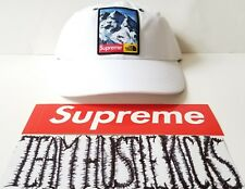 Supreme x The North Face TNF Mountain 6 Panel Hat Cap ( WHITE ) New in hand FW17