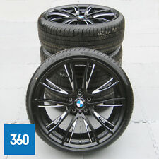 "NEW GENUINE BMW 3 4 SERIES 20"" 624 M SPORT DOUBLE SPOKE ALLOY WHEELS TYRES F30"