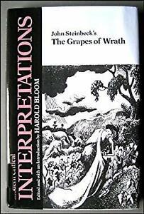 John Steinbeck's The Grapes of Wrath Hardcover Harold Bloom