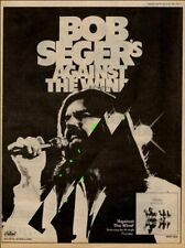 Bob Seger UK Promo Against The Wind LP advert 1980 MM-REWH