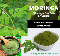 Moringa Powder Organic Oleifera Leaf Natural Pure Non GMO Free Shipping