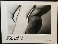 1982 Eikoh Hosoe Photographs 1960-80 Gallery Show Poster Print Embrace Art Nude