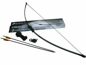 Petron Stealth Strong Leisure Bow Archery Kit - Arrows, Arm Guard, Finger Tab