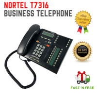 Nortel Norstar Networks T7316 Charcoal Business Display Telephone