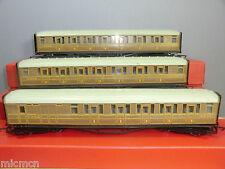 HORNBY RAILWAYS MODEL'S No,R4332 / R4333  3 x LNER *TEAK * COACHES  SET