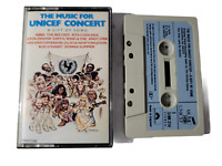 The Music For UNICEF Concert 1979 Polydor Cassette Tape Abba Bee Gees More +++