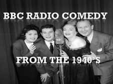 BBC Old Time Radio Comedy Show Collection 1940's/1950's MP3 CD