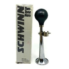 🔴 Schwinn Two Tone Horn W/ Original Box Part # 05 005 Vintage Bicycle Horn