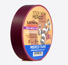 """Merco M809 Electrical Tape 3/4"""" x 66' All Weather UL - PURPLE - pack of 50 ro..."""