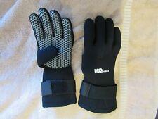 Scuba Diving Snorkeling Neoprene Gloves H2O Odyssea 3mm Black Small