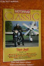 Motorrad Classic 1/91 Triumph T 110 BSA MZ Puch MS 50