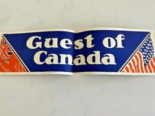Early 1930's Original U.S. Tourist Travel Promotion Shopping in Toronto Canada