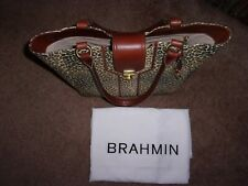 Brahmin Diana Tote Leopard Print Tote Sold Out In Stores HTF NWOT!!!