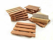 1 aromatic Spanish cedar soap dish - SPECIAL LOW PRICE - Handcrafted in the USA