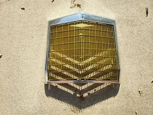 OEM VINTAGE 1977-1979 LINCOLN MARK V CUSTOM GOLD FRONT GRILL