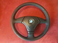 BMW Sportlenkrad Lenkrad E46 E39 3 Speichen Neu Bezogen Leder M Naht