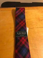$28 Boys Lauren Ralph Lauren silk tie red B18