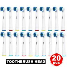 For Braun Oral-B EB-17 Electric Toothbrush Replacement Brush Heads 20 PCS