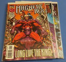 Magneto Rex #1-3 VF-NM Marvel Comics Uncertified