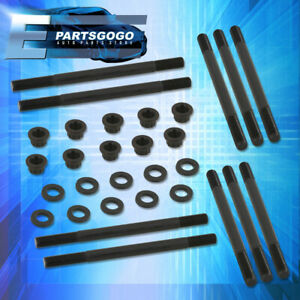 For 96-00 Honda Civic D16Y D16Y7 D16Y8 Engine Replacement Cylinder Head Stud Kit