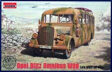 OPEL Blitz Omnibus W. 39 (TEDESCO WEHRMACHT & esercito sovietico MKGS) 1/72 Roden
