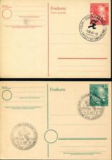 Federal 1949 pso1-2 SST bundestag cosa muy (z7410b