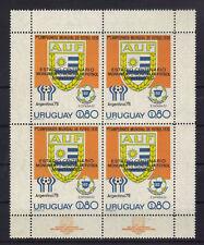 Uruguay 1537 Kleinbogen postfrisch / Fussball .........