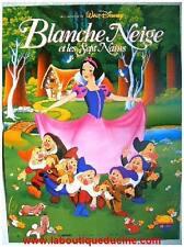BLANCHE NEIGE ET LES 7 NAINS Snow White and the 7 Dwarfs Affiche Cinéma Poster