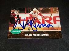 Red Wings Brad McCrimmon Lokomotiv Auto Signed 1992/93 Parkhurst #271 JSA M7