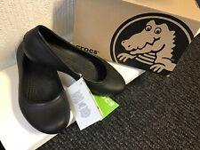 ladies ballet pump crocs size 4